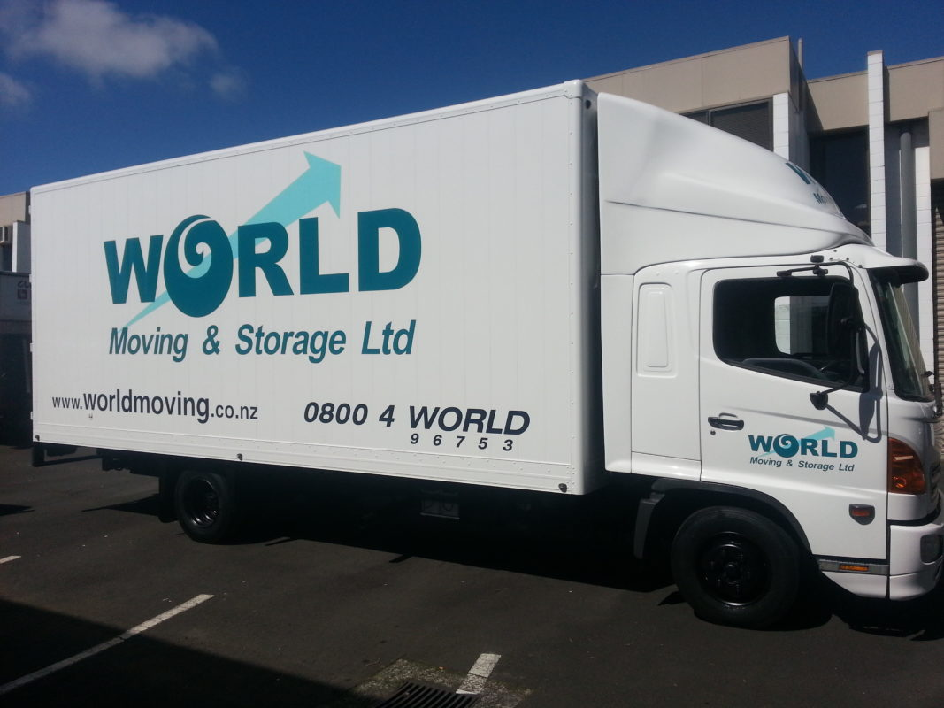 World Moving truck